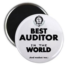 The Best in the World – Auditor Magnets