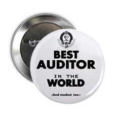 """The Best in the World – Auditor 2.25"""" Button"""