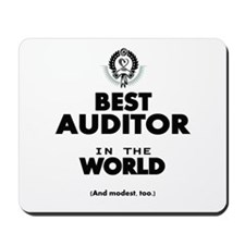 The Best in the World – Auditor Mousepad