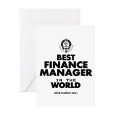 The Best in the World – Finance Manager Greeting C