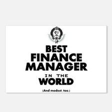 The Best in the World – Finance Manager Postcards