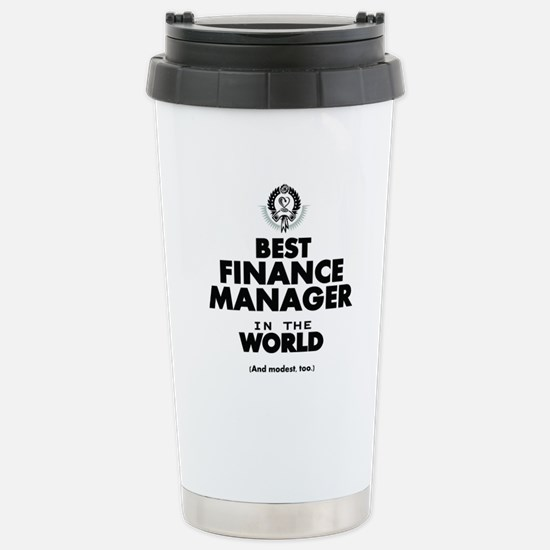 The Best in the World – Finance Manager Travel Mug
