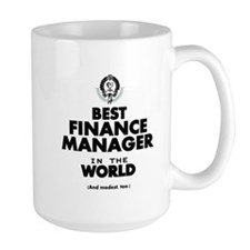 The Best in the World – Finance Manager Mugs
