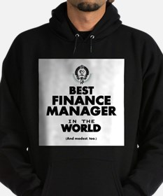 The Best in the World – Finance Manager Hoodie