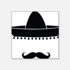 """mexican Square Sticker 3"""" x 3"""""""