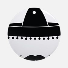 mexican Round Ornament