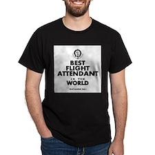 The Best in the World – Flight Attendant T-Shirt