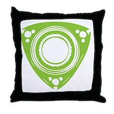 rotarybutton Throw Pillow