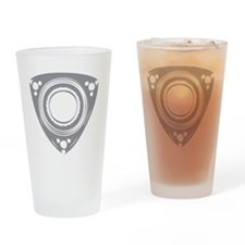 rotarybutton3 Drinking Glass