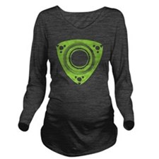 rotarybutton Long Sleeve Maternity T-Shirt