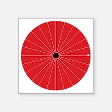"blind_spot Square Sticker 3"" x 3"""
