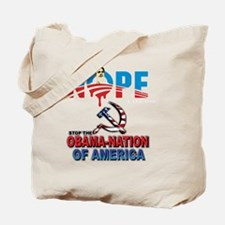 uaff_obama_tee_design3 Tote Bag