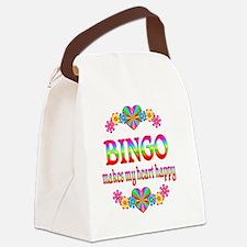 bingo Canvas Lunch Bag