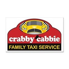crabbycabbieK Rectangle Car Magnet