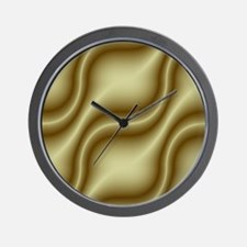 cream shower curtain 01027_00002 Wall Clock