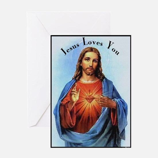 Jesus Loves You, but... Greeting Cards (Package of