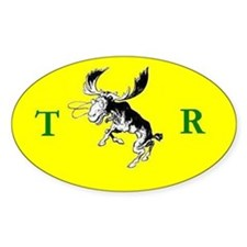 Theodore Roosevelt Campaign Decal