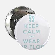 """t-shirt_keep calm_flipflops_FINAL 2.25"""" Button"""