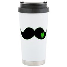 Shamrock Stache Travel Mug