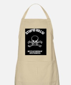 stupid-kills-CRD Apron