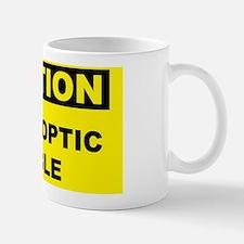 Caution-FIBER-OPTIC-CABLE Mug