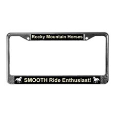 Cool Rocky mountain horse License Plate Frame