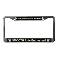 Rocky mountain horse License Plate Frame