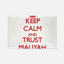 Keep Calm and TRUST Maliyah Magnets