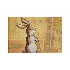 Velvet-Rabbit 3 Rectangle Magnet