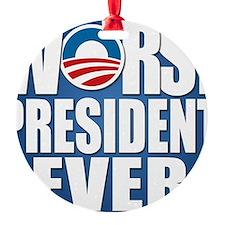 worst president ever Ornament
