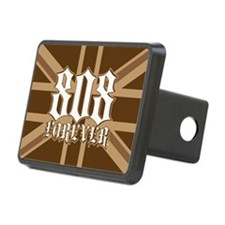 808Forever-myflag Hitch Cover