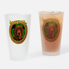 --CELTIC-IRISH-SETTER-SMALL Drinking Glass