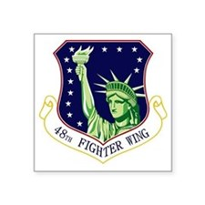 "48th FW Square Sticker 3"" x 3"""