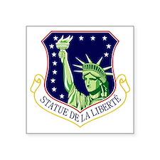 """48th FW - Statue De La Libe Square Sticker 3"""" x 3"""""""