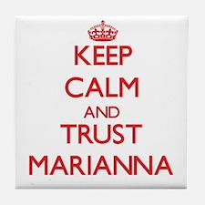 Keep Calm and TRUST Marianna Tile Coaster