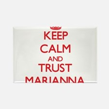 Keep Calm and TRUST Marianna Magnets