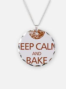 Keep Calm Bake Cookies2 copy Necklace