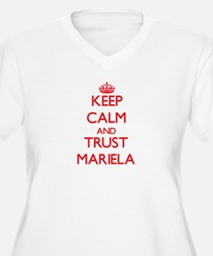 Keep Calm and TRUST Mariela Plus Size T-Shirt