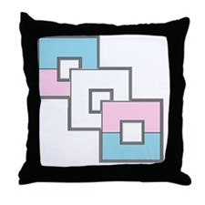 Transgender Pride Throw Pillow