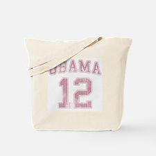 Obama 12 Vintage [Pink] Tote Bag