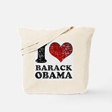 I Love Barack Obama Tote Bag