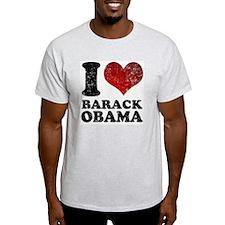 I Love Barack Obama T-Shirt