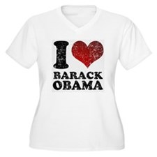 I Love Barack Oba T-Shirt