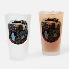 fjdrawingcafepressround Drinking Glass