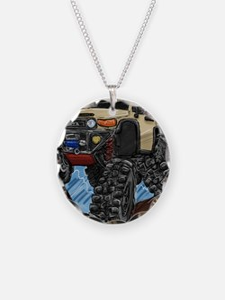 fjdrawingcafepressround Necklace