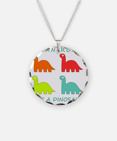 4 Dinosaurs Necklace