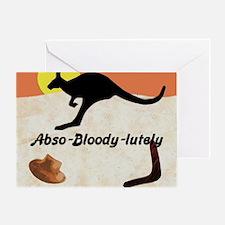 Kagaroo Jillo, Abso-bloody-lutely Greeting Card