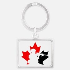 Team Canada Landscape Keychain