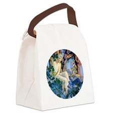 PARRISH GNOMES AND FAIRY PRINCESS Canvas Lunch Bag