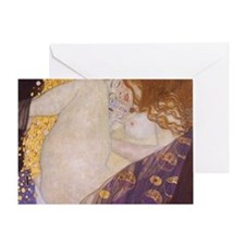 KlimtDanaeOriginal1 Greeting Card